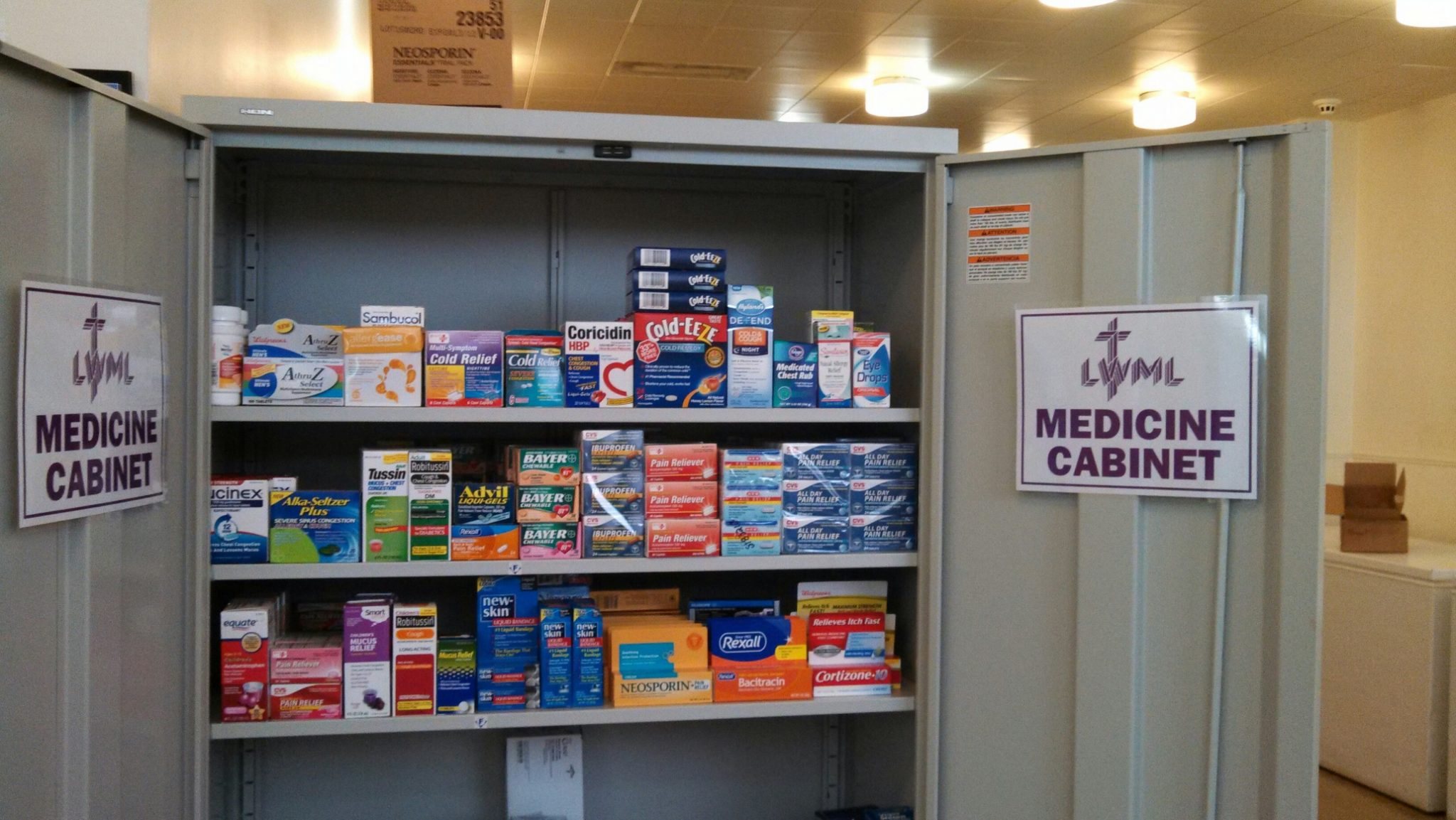 photo of Food Co-op medicine cabinet